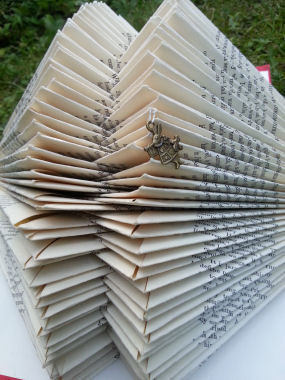 Book Sculpture by Jeanette Davis