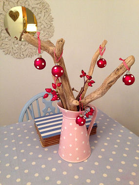 Driftwood tree sent in by Lizzy R from Lincoln